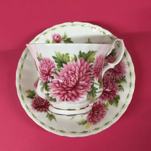 Royal Albert - Flower of the Month - November Duo - 50s